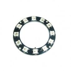 Модуль из 12 RGB светодиодов WS2812 (кольцо)