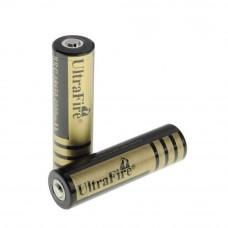 Аккумулятор 18650 UltraFire Gold 3.7В 4000мА/ч (1200 мА/ч)