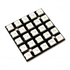 Модуль из 25 RGB светодиодов WS2812 5x5