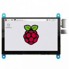 "Емкостный сенсорный 5.0"" TFT дисплей для Raspberry pi MPI5001"