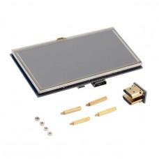 """Резистивный сенсорный 5.0"""" TFT дисплей для Raspberry pi MPI5008"""