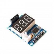 Контроллер ультразвукового датчика HC-SR04