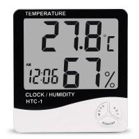 Термометр-гигрометр цифровой HTC-1 (метеостанция)