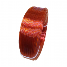 PETG пруток 1.75мм прозрачный Оранжевый 1кг, моток