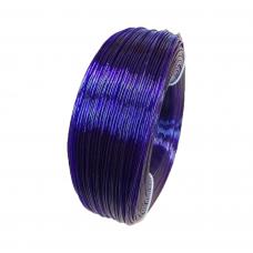 PETG пруток 1.75мм прозрачный Фиолетовый 1кг, моток