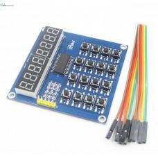 Модуль цифрового дисплея с кнопками QYF-TM1638