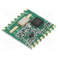 Приемопередатчик RFM22B-S 433МГц REV3.0