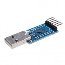 Преобразователь USB - UART на CP2104 6-pin