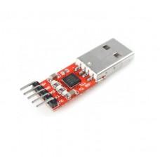 Преобразователь USB - UART на CP2102 5-pin