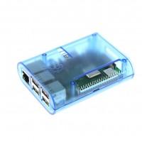 Прозрачный синий корпус для Raspberry Pi (B+, 2, 3)