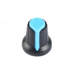 Колпачок для потенциометра 15x17мм синий