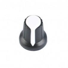 Колпачок для потенциометра 15x17мм белый