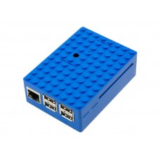 Корпус для Raspberry Pi 3 Multicomp Pi-Blox синий