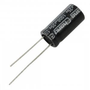 Электролитический конденсатор 1000мкФ 25В купить