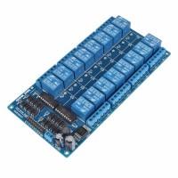 Модуль реле 5В 16-каналов электромеханическое