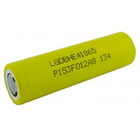 Аккумулятор 18650 высокотоковый LG HE4 2500мАч 25А