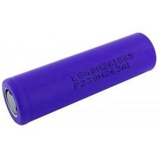 Аккумулятор 18650 высокотоковый LG M26 2600mAh LGGBM261865