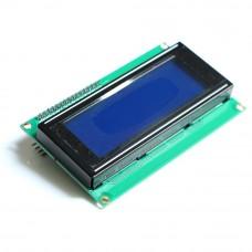 Символьный дисплей 2004-I2C Синий