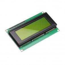 Символьный дисплей 2004-I2C Зелёный