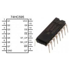 Сдвиговый регистр 74HC595N