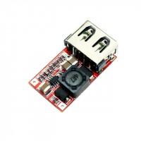Понижающий преобразователь USB DC-DC 6 - 24в до 5В 2А