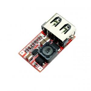Понижающий преобразователь USB DC-DC 6 - 24в до 5В 2A купить