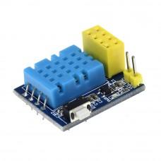 Модуль расширения для ESP-01 с датчиком температуры и влажности DHT11