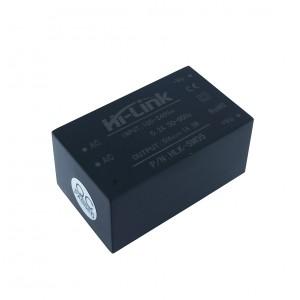 AC/DC конвертер HLK-5M05, 5В 5Вт