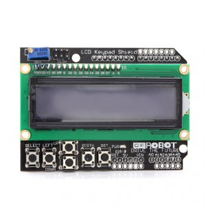 LCD Keypad Shield купить