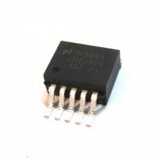 Импульсный понижающий регулятор напряжения LM2596S-ADJ (1.2-37В, 3А)