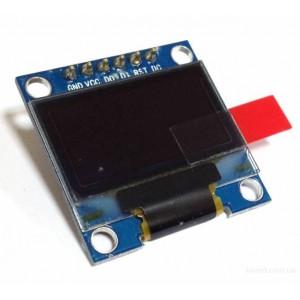 """OLED дисплей 0.96"""" 128x64, SPI синий купить"""