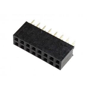 Гнездо на плату PBD-16 (DS-1023 - 2x8), прямое черное купить