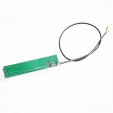 Антенна PCB IPX 2.4ГГц 4дБ, зеленая