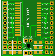 Плата - переходник для MCP23017