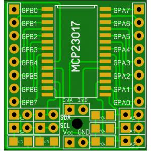 Плата - переходник для MCP23017 купить