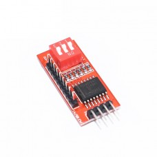 Модуль расширения I2C 8-канальный PCF8574T c переключателем