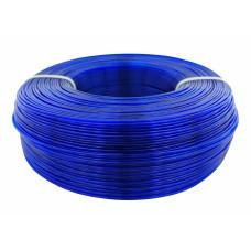 PETG Glass пруток 1.75мм прозрачный Синий 1кг, моток