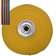 Шлейф цветной 20 жил шаг 1.27, RCA-20, 1м