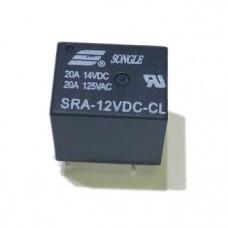 SRA-12VDC-CL, реле 20А, 12VDC
