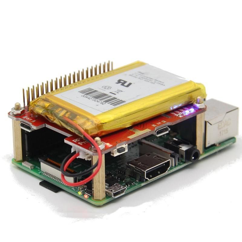 Купить Raspberry Pi UPS HAT V1 1