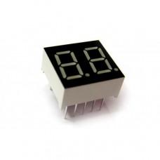 Двухразрядный 7-сегментный индикатор 2281AS 0.28' красный