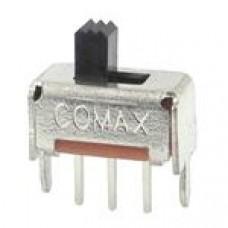 Переключатель движковый SS12D07VG4, 30В 0.3А