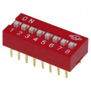 SWD-08 (DS-08) DIP переключатель купить
