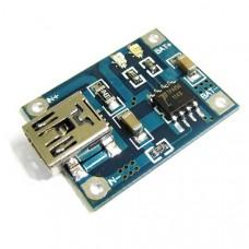 Модуль заряда аккумуляторов TP4056 (mini USB)