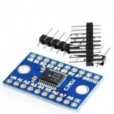 Преобразователь логических уровней, 8-канальный TXS0108E