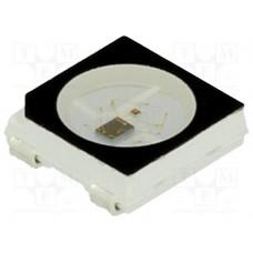 Светодиод RGB 5050 WS2812B (черный корпус)