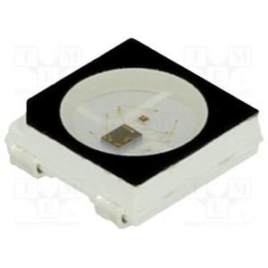 Светодиод RGB 5050 WS2812B (черный корпус) купить