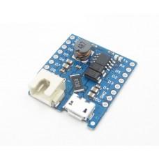 WeMos D1 mini Battery Shield