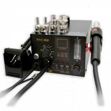 Паяльная станция (фен+паяльник) YAXUN YX-968