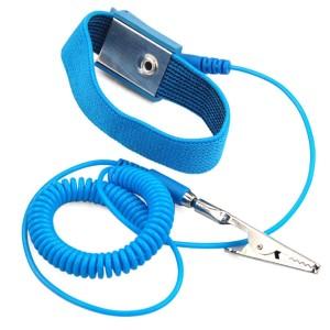 Браслет антистатический LEKO с кабелем купить